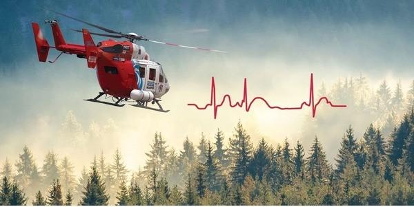 Air Med ECG Image