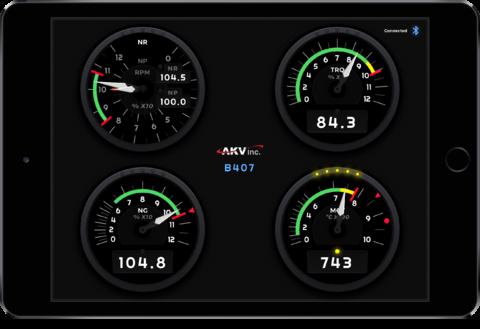 AKV Gauge App Image