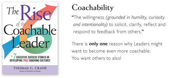The Rise of the Coachable Leader